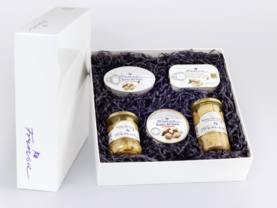 ESta caja esconde lo mejor del Cantábrico: Bonito del Norte en Aceite de Oliva, en Escabeche, ventresca...