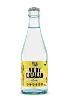 Vichy Catalán Lemon (en lata de 33 cl. y ahora en botella de vidrio de 250 ml)