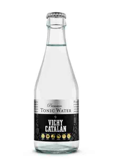 La nueva y genuina Premium Tonic Water by Vichy Catalán (en lata de 33 cl. y en botella de 250 ml)