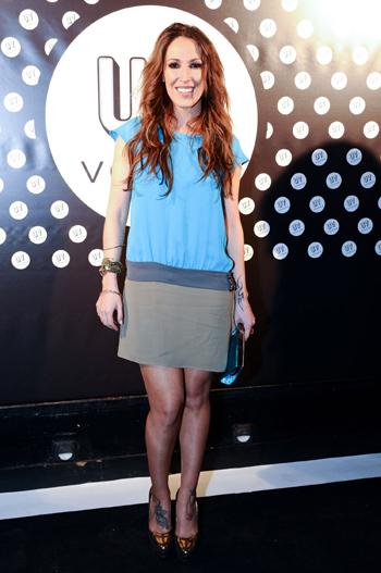 La cantante Malú amadrinó la presentación del Vodka UV en España. No faltó nadie a la fiesta.