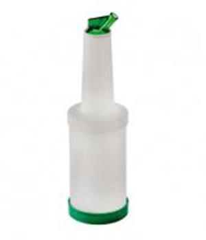 Perfectas para conservar las bebidas; facilitan el trabajo al Barman por lo cómodas y prácticas que son estas botellas para bar de Supreminox: tapones en tres colores.
